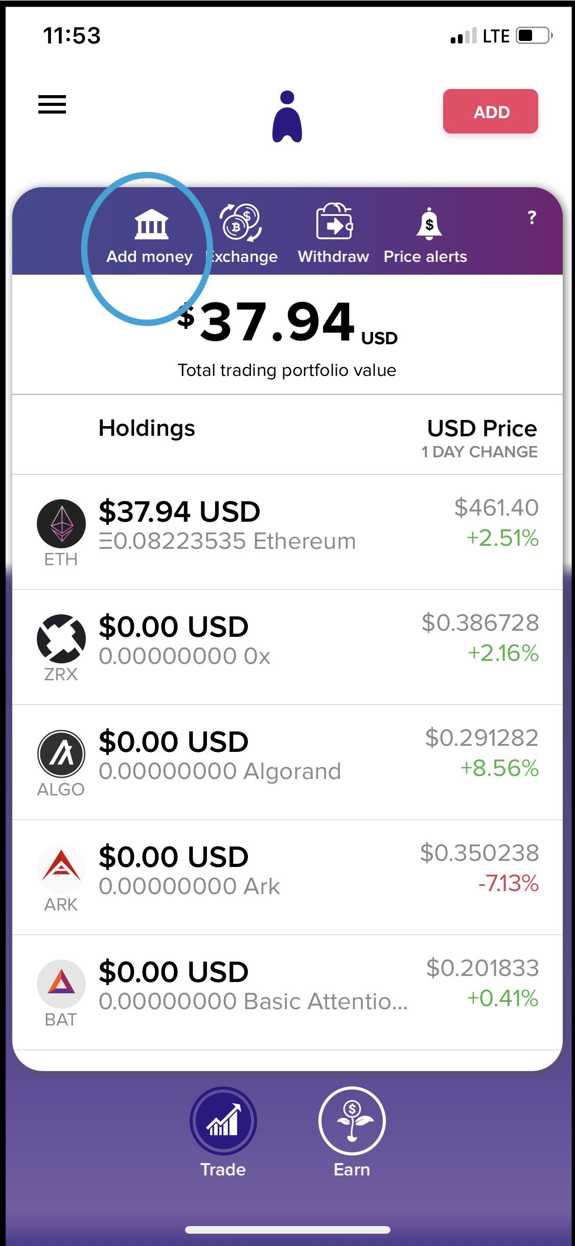 iost bitcoin rinka crypto signalo programa